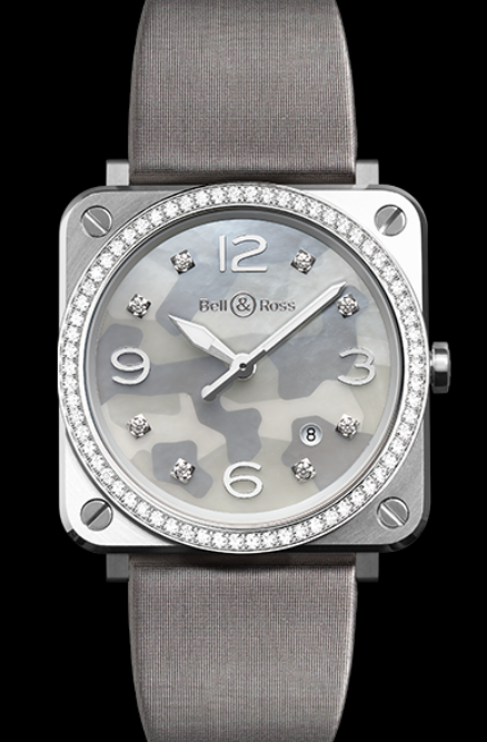 Women's 39MM Bell & Ross BR S Replica Watches With Grey Dials