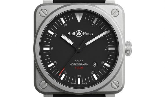 Bell & Ross BR03-92 Horograph - front