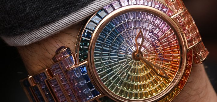 Chopard Imperiale Joaillerie Rainbow Watch Hands-On Hands-On